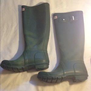 Hunter Matte Rainboots